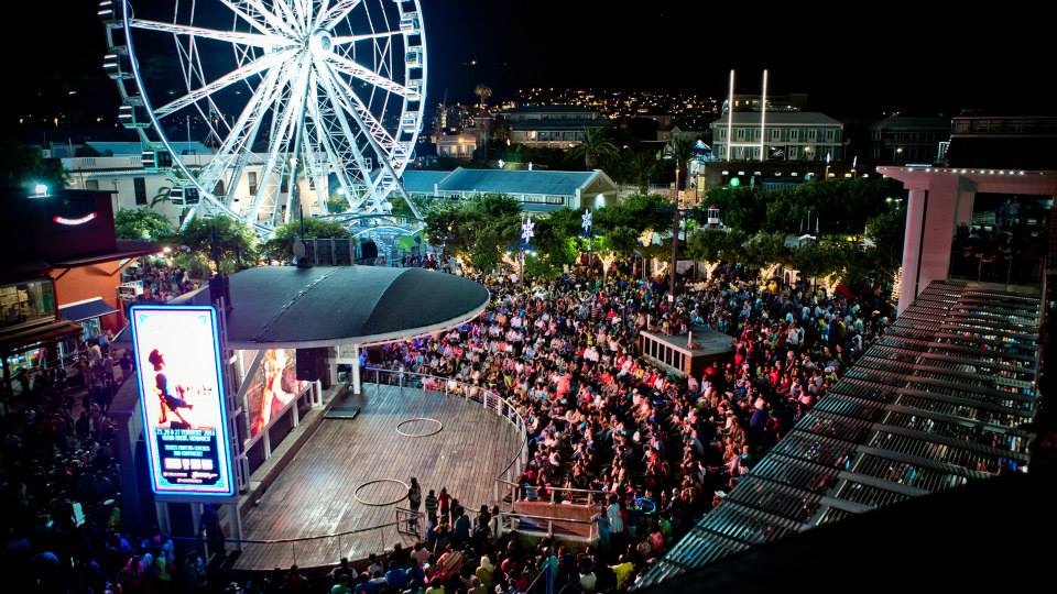Waterfront concert, Cape Town Lately