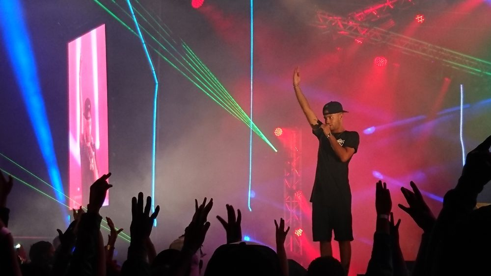 YoungstaCPT on stage at Hunters Heat Seeker, Cape Town Lately