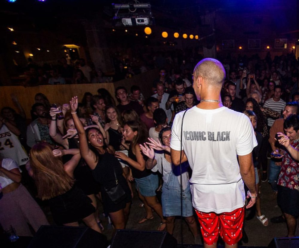 Youngsta on stage, Cape Town Lately