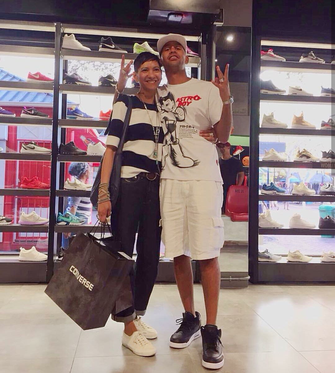 YoungstaCPT takes his mother shoe shopping, Cape Town Lately