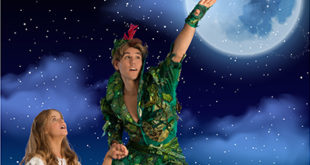 Peter Pan on stage at Canal Walk in July, Cape Town Lately