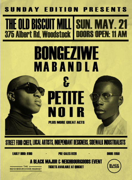 Bongeziwe Mabandla and Petite Noir, Cape Town Lately