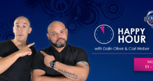 Dalin Oliver and Carl Weber on Good Hope FM Happy Hour, Cape Town Lately