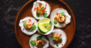 Chilli canapes at Shimmy Beach Club with Eat Out, Cape Town Lately