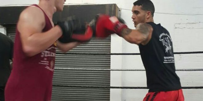Kickboxer Chester Kruger, Cape Town Lately