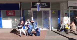 Hostages at Cash Crusaders in Strand Street, Cape Town