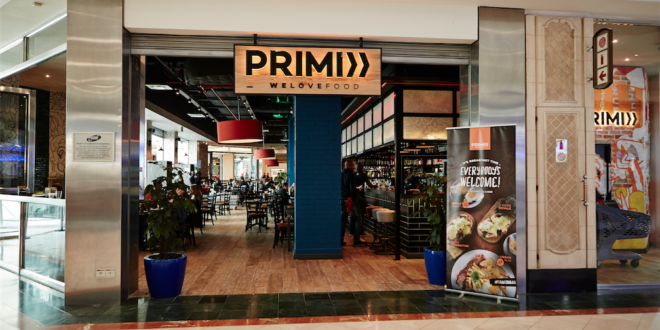 New PRIMI in Canal Walk, Cape Town Lately