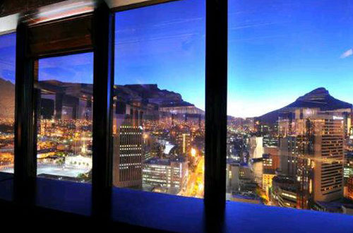 View from Cocoon, Cape Town Lately