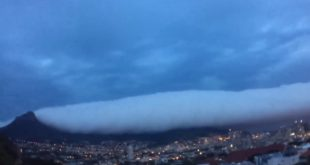 Storm hits Cape Town out of nowhere